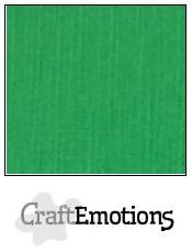 CraftEmotions linnenkarton - grasgroen LHC-27 A4 250gr