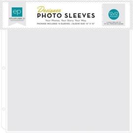 Echo Park Photo Sleeves 12x12 Inch (10 pcs) (PFPS1001)