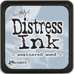 Tim Holtz distress mini ink weathered wood