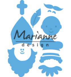 Marianne D Creatables LR0565 - Sinterklaas & Pieterbaas
