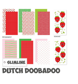 Dutch Doobadoo - 473.005.014 - Crafty Kit Slimline Berry sweet