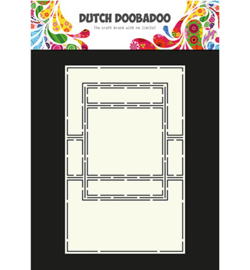 Dutch Doobadoo Card Art Text Trifold 2