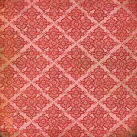 Basic Grey - Blush Devotion 12x12 Patterned Paper - BLU-646