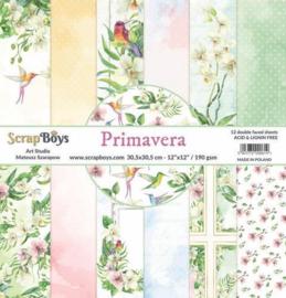 ScrapBoys - Primeravera 12x12 Inch Paper Set