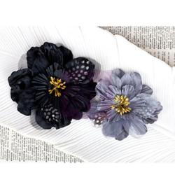 Fabric flowers-Swan - Prima Marketing