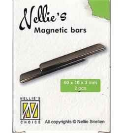Nellie`s Choice - STBM003 - Nellie's Magnetic bars 2 pcs/box