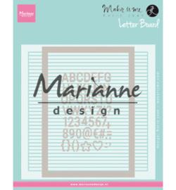 Marianne D Embossing DF3454 - Karin Joan's Letter Board