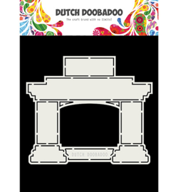 Dutch Doobadoo - 470713744 - Card Art Fireplace