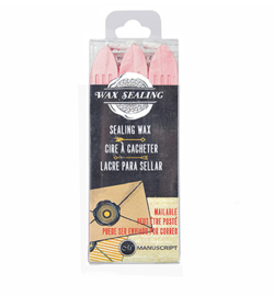 MSH7633PNK - Pink - Sealing Wax with Wick