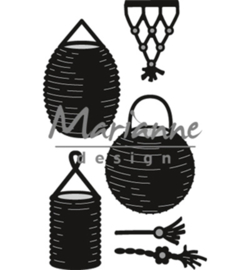 Marianne D Craftable CR1443 - Lampion set