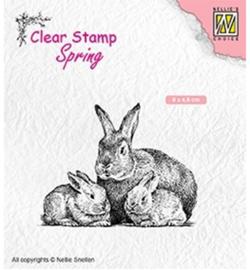Nellie's Choice - SPCS010 - Rabbit family
