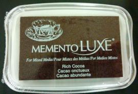 Memento inktkussen De Luxe Rich Cocoa ML-000-800