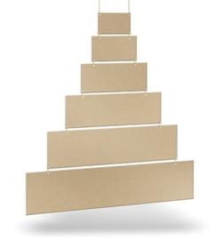Kerstboom 6-delig incl. touw