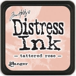 Tim Holtz distress mini ink tattered rose