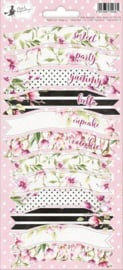 Piatek13 - Sticker sheet Party Hello Beautiful 01 P13-314X 10,5x23 cm