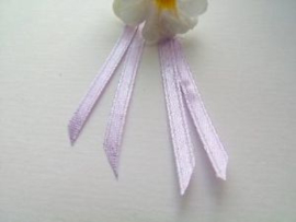 Double Face Satin Ribbon - Pastel Lila  3,5 mm