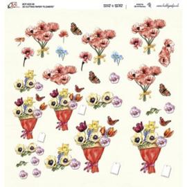 Crea Motion - 30x30 - 3D knipvel - Flowers