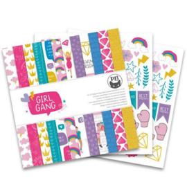 Piatek13 - Paper pad Girl Gang 12x12 P13-GRL-08