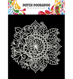 Dutch Doobadoo - 470.715.624 - DDBD Mask Art Mandala met bloem