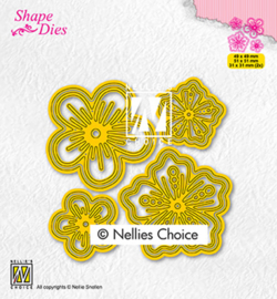 Nellie`s Choice - SD200 - Set of flowers