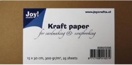 Joy!Crafts Kraft Papier (15x30 cm) Pack (8089/0206)