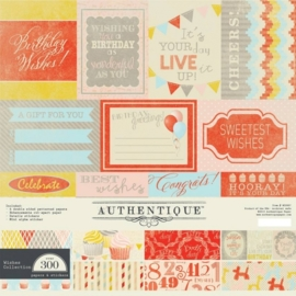 Authentique Wishes 12x12 Inch Collection Kit (WIS007)