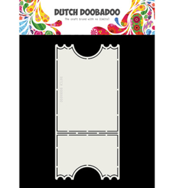 Dutch Doobadoo - 470713732 - Card Art Ticketstub