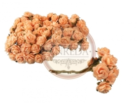 Mini Rose - Solid Creamy Pale Yellow