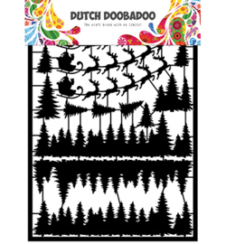 Dutch Doobadoo - 472.950.009 - Dutch Paper Art Santa