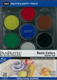Pan Pastel set 7 Basic Colors
