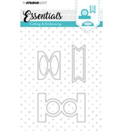 Studio Light STENCILSL124 - Embossing Die Cut Stencil Essentials nr.124