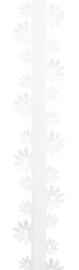Lint Spring breeze crème / ivoor 33MM - per meter