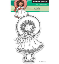 Penny Black Transparent Stamp - Adele