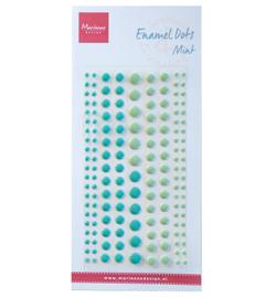 Marianne D PL4519 - Enamel dots - two mint