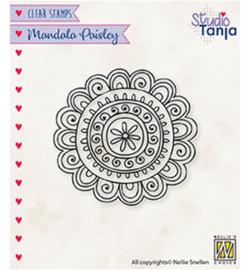 Nellie`s Choice - CSMAN009 - Mandala's Paisley flower