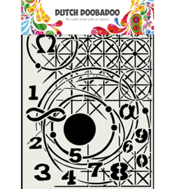 Dutch Doobadoo - 470.715.815 - Mask Art, Meetkunde