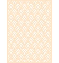 Joy! Crafts - 6002/0872 - Polybesa achtergrondstencil - Geo retro