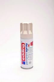 Edding 5200 permanent spray mat crèmewit (200ml)