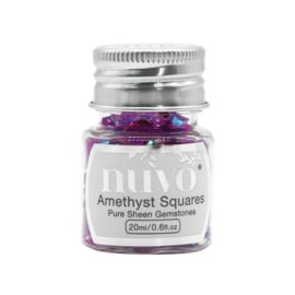 Nuvo Gemstones (ass. sizes) - amethyst purple 1405N