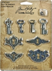 Tim Holtz Idea-Ology Locket Keys