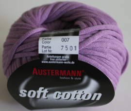 Austermann - Soft Cotton 007 lila