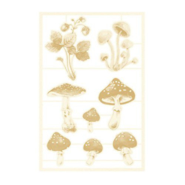 Piatek13 - Chipboard embellishments Forest tea party 03 P13-FOR-45