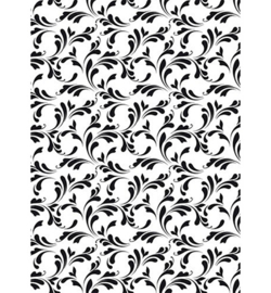 Nellies Choice Lasercut Stencil - NMMS027 - Swirls-2