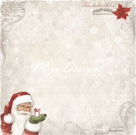 Maja Design - A gift for you - 12 x 12 Double Sided Paper - From Santa with love