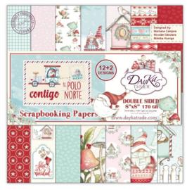 DayKa Trade Contigo Al Polo Norte 8x8 Inch Paper Pack (SCP-1033)