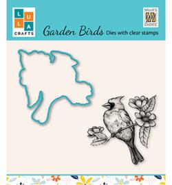 Nellie`s Choice - HDCS012 - Garden bird-4