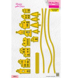 Nellie`s Choice - SD214 - Slimline size Village
