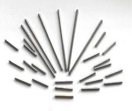 Jig Pegs - metalen pennen (1x 16mm, 19x 16mm, 6x 60mm)