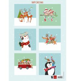 Marianne D Knipvel EWK1278 - Happy Christmas
