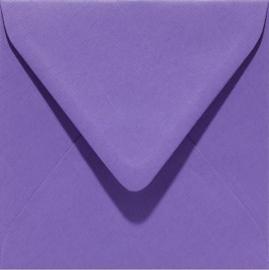 Papicolor Envelop vierk. 14cm paars 105gr-CV 6 st 303946 - 140x140 mm